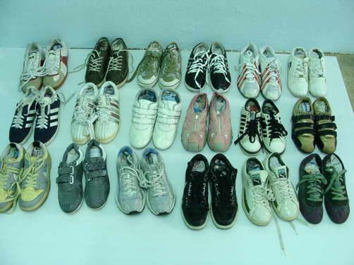 รองเท้าผ้าใบหญิง 45 คัด 60