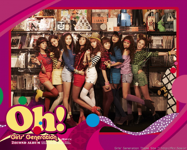 gee girls generation wallpaper. Girls Generation OH!