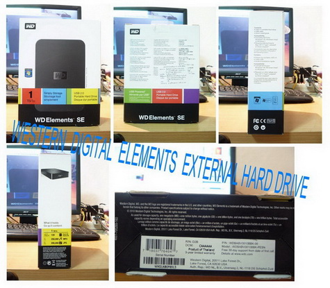 External Harddisk Element